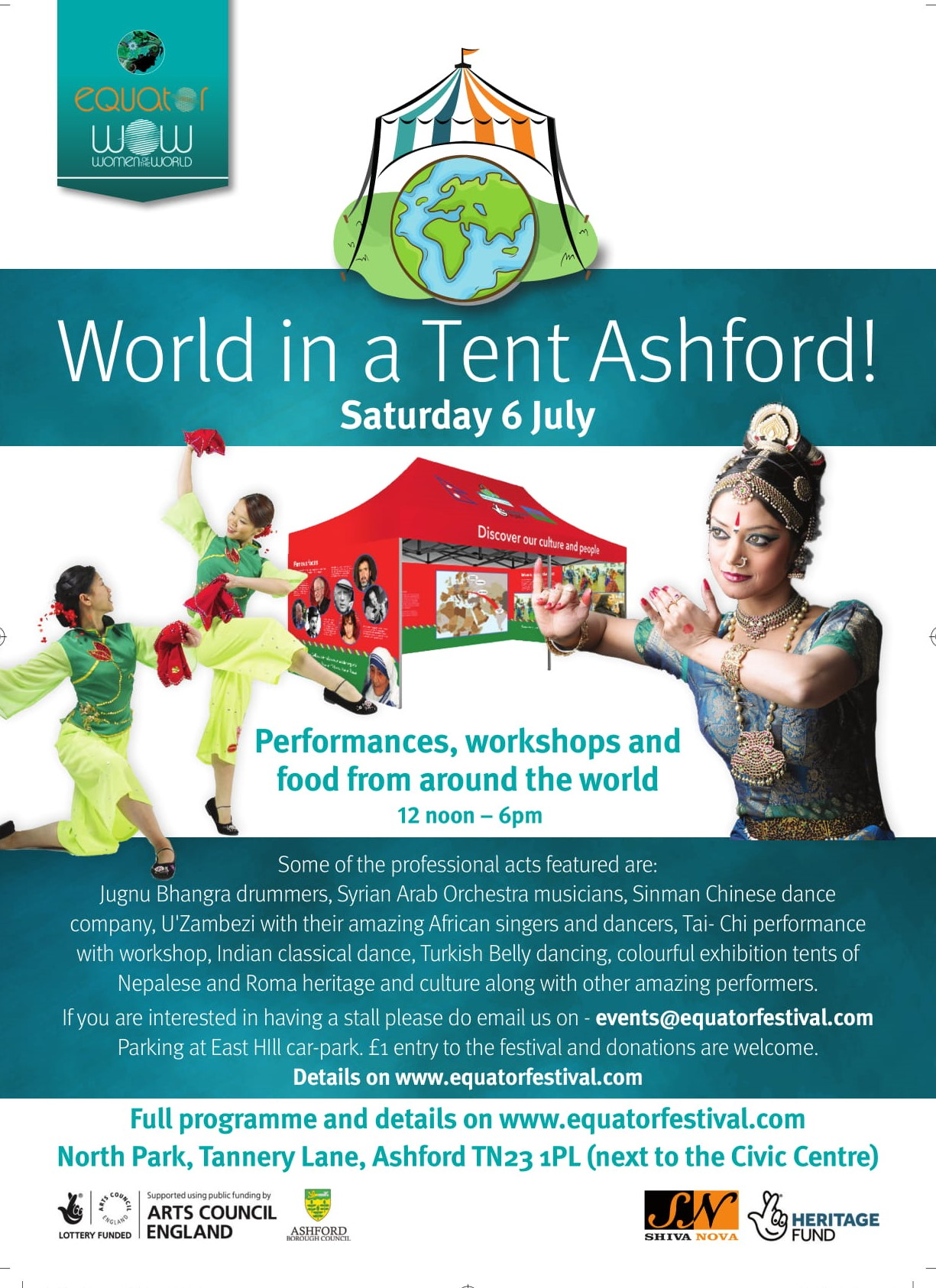 World in a Tent Ashord @ North Park